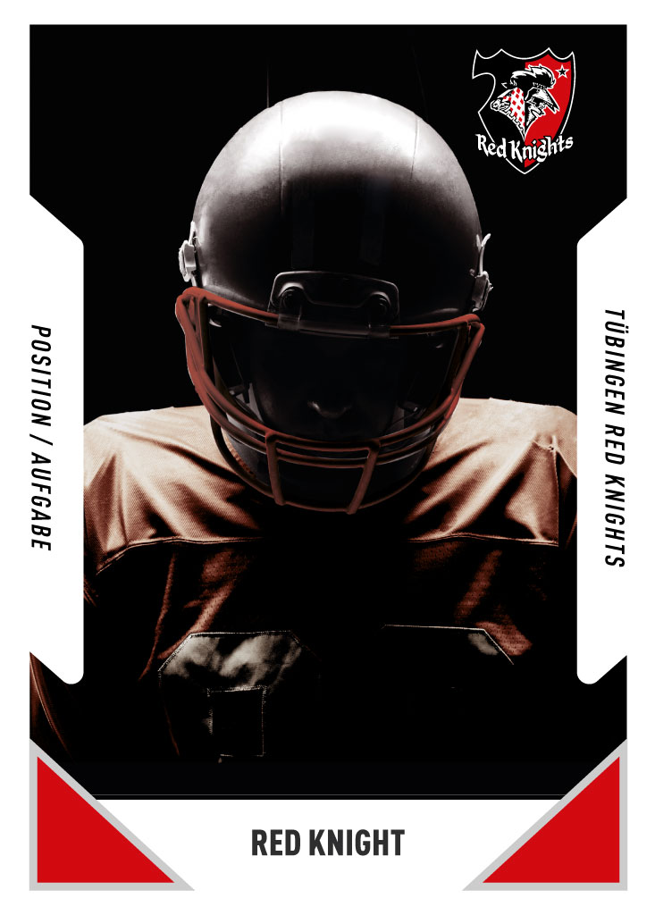 Red Knight | Position | PlayerCard | Tübingen Red Knights