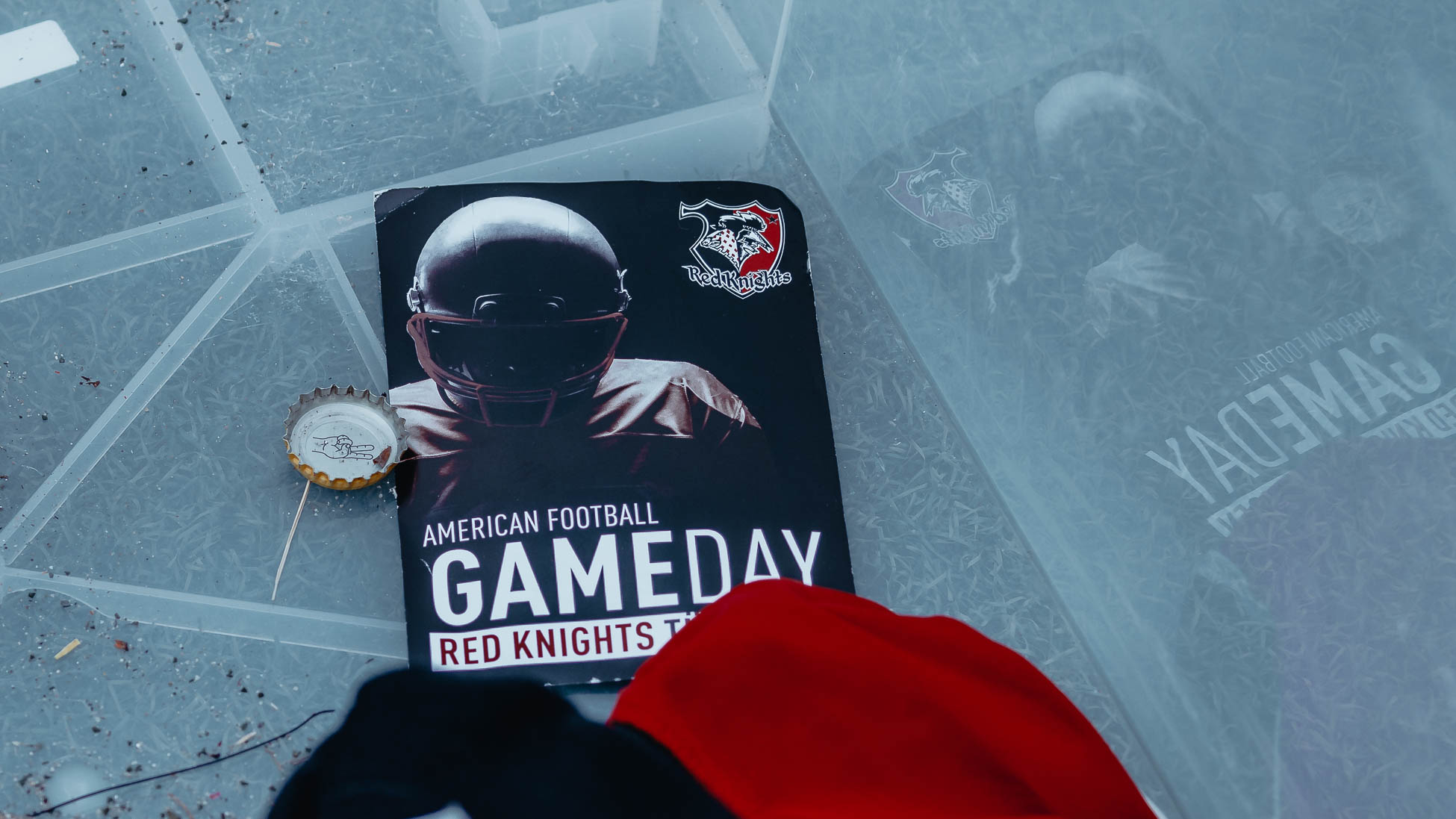 Gameday Card American Football Tübingen Red Knights
