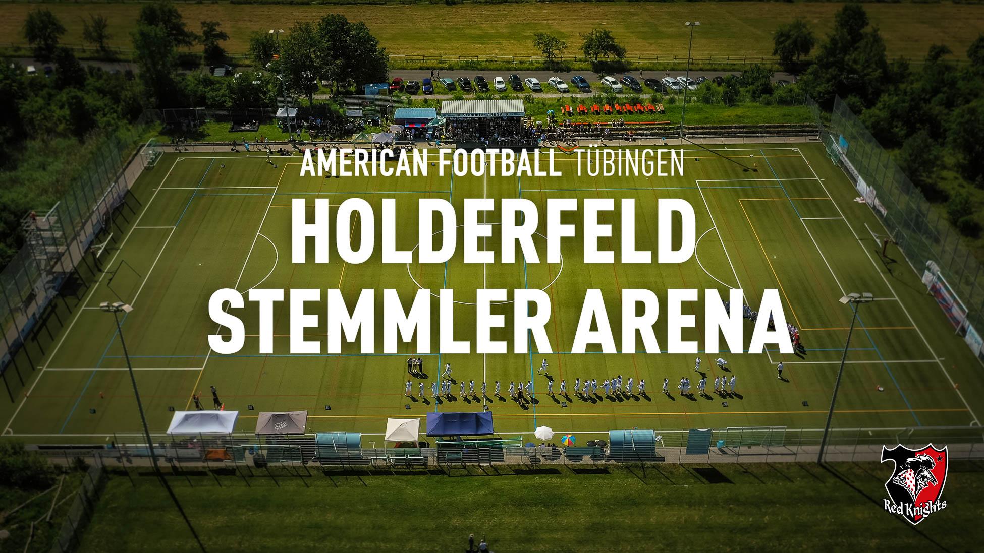 Home of the Red Knights - Holderfeld - Stemmler-Arena, SSC-Tübingen