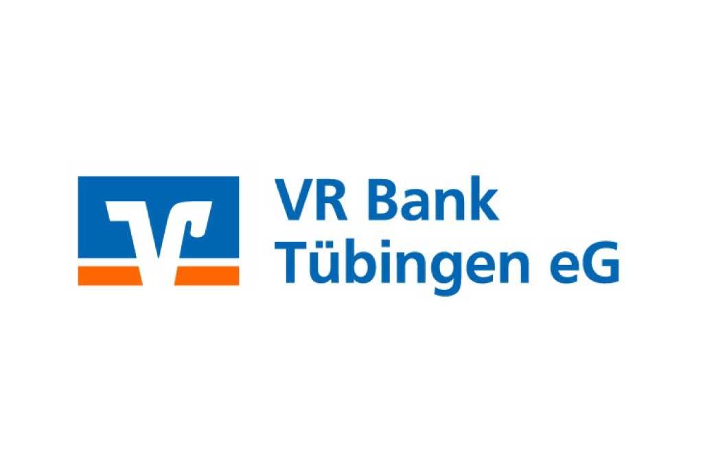Berichtsbild Sponsor Logo VR-Bank Tübingen eG