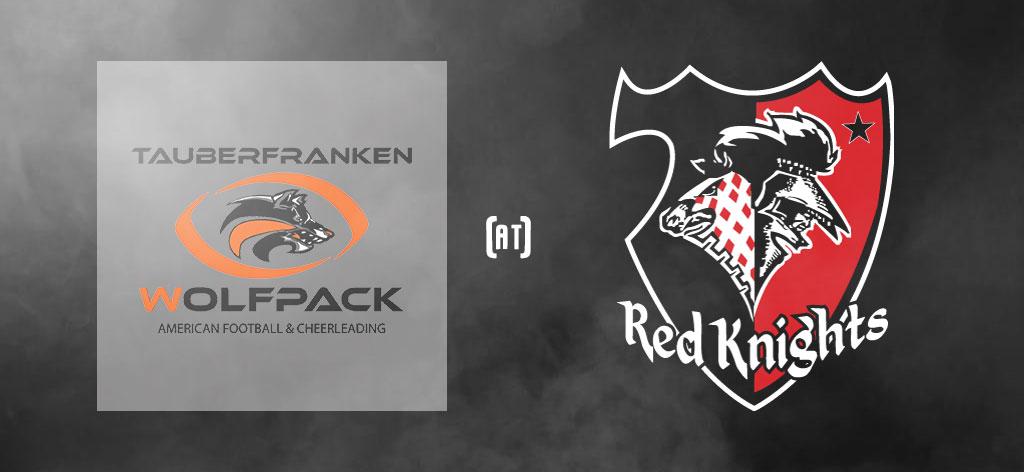 GameDay Smoke Tauberfranken Wolfpack at Tübingen Red Knights
